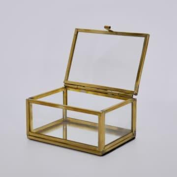 Glas Box gold