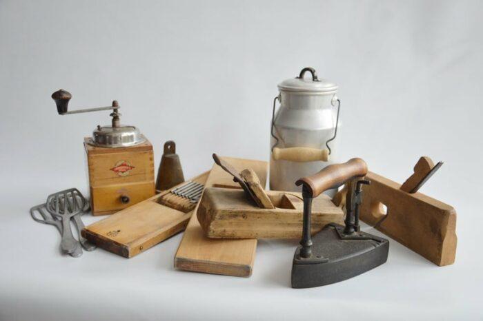 Vintage Dekoration Werkzeug
